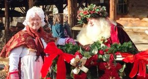 Picture of Santa Claus and friend