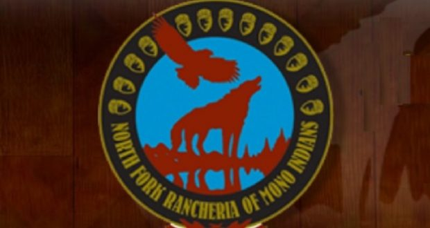 Picture of the North Fork Rancheria emblem/sign