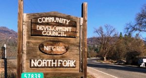 Picture of the North Fork Community Development Council sign.