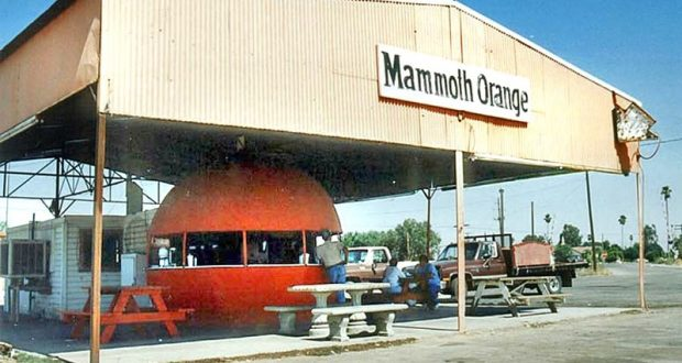 Picture of Mammoth Orange Food Stand.