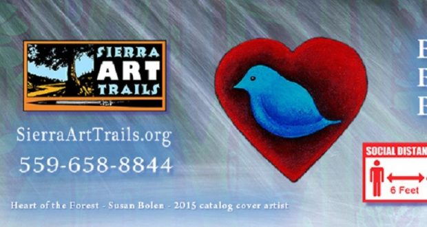 Picture of the Sierra Art Trail logo.