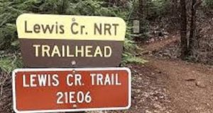 Picture of a trail sign.