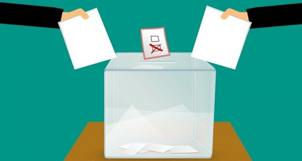 Image of a ballot box.