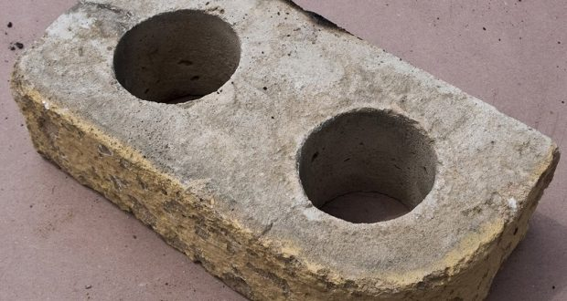 Image of a pumitile brick.