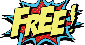 "Image of a ""FREE"" sign."