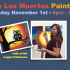 Image of Day of the Dead painting event flyer.