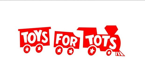 Image of the Toys for Tots logo.