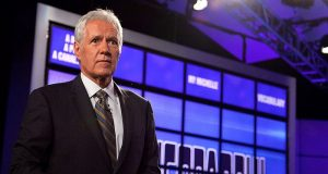 Image of Alex Trebek.