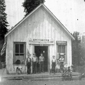 Image of Albert Philp General Merchandise store.