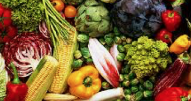 Image of fruits and vegetables.