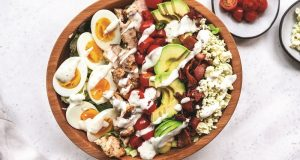 Image of a Cobb salad.