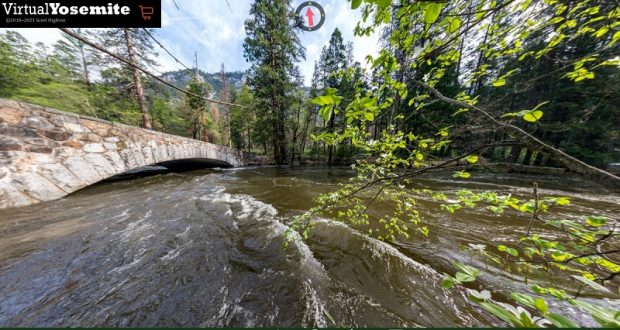 Image of the Merced River.