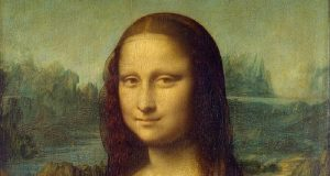 Image of the Mona Lisa.