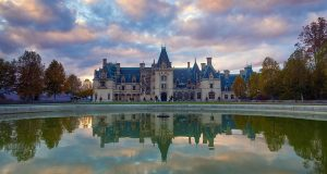 Image of Biltmore Mansion.