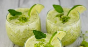 Image of tart lime smoothies.