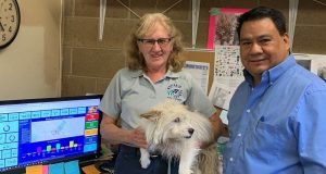 Image of workers at the Madera Animal Services.