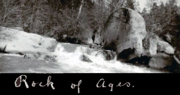 Image of the Rock of Ages.