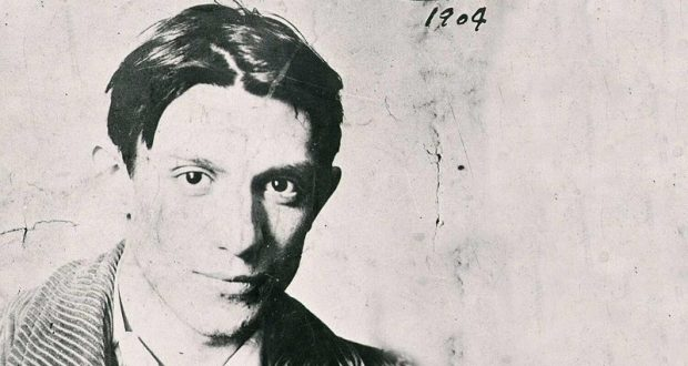 Image of a young Pablo Picasso.