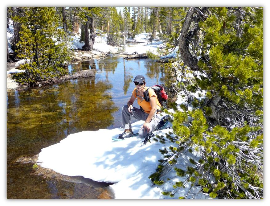 Cathedral Lake Snowshoe 12