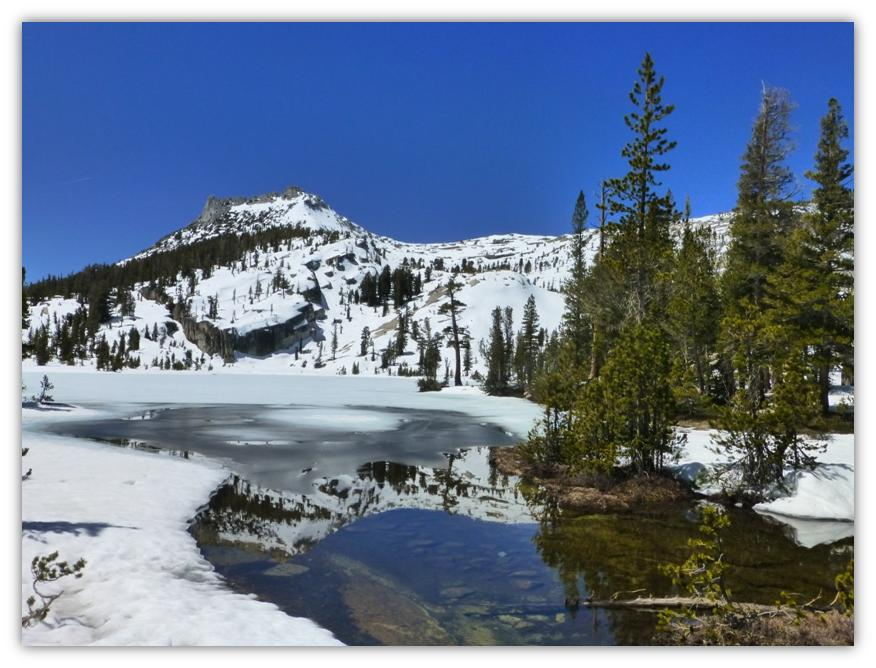 Cathedral Lake Snowshoe 13