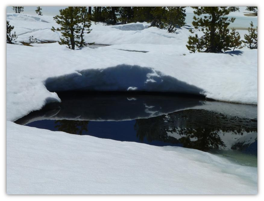 Cathedral Lake Snowshoe 17