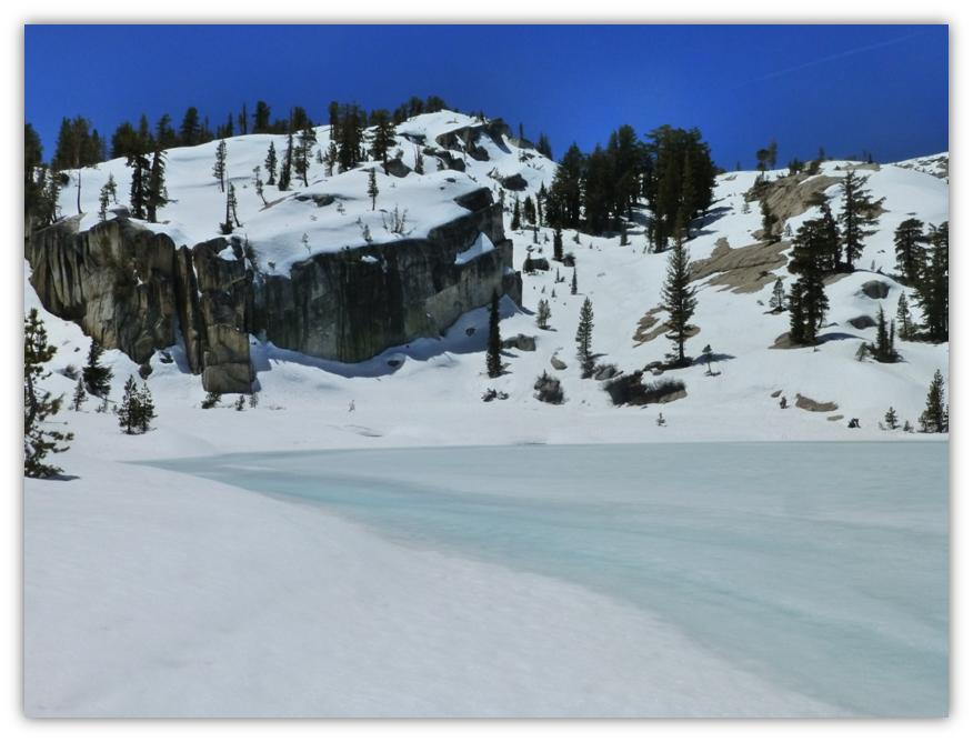 Cathedral Lake Snowshoe 22