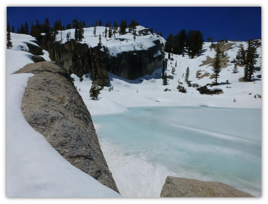 Cathedral Lake Snowshoe 23