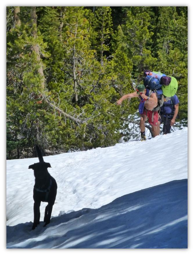 Cathedral Lake Snowshoe 29