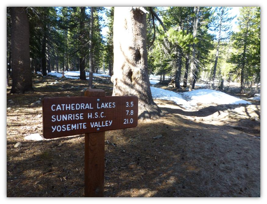 Cathedral Lake Snowshoe 3