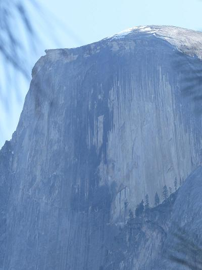 Indian Womans Face on Half Dome