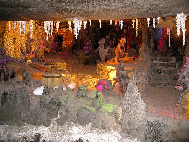 Amazing and beautiful ancient Polish salt mine19