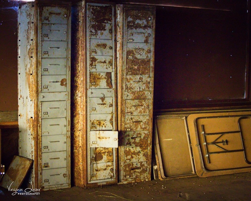 BB old file cabinets rusting photo by Virginia Lazar 2015
