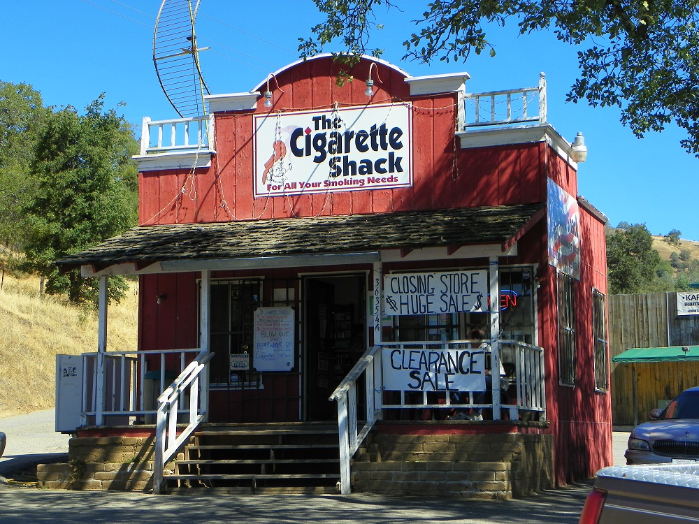 Julie Hoetker and Jean Field go into semiretirement and close The Cigarette Shack in Coarsegold