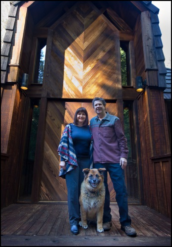 Grant Beth and their dog Kamina look forward to greeting you upon your arrival at Little Ahwahnee Inn