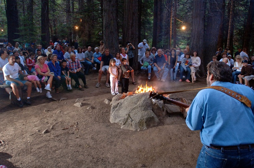 Campfire at the Moonlight Special