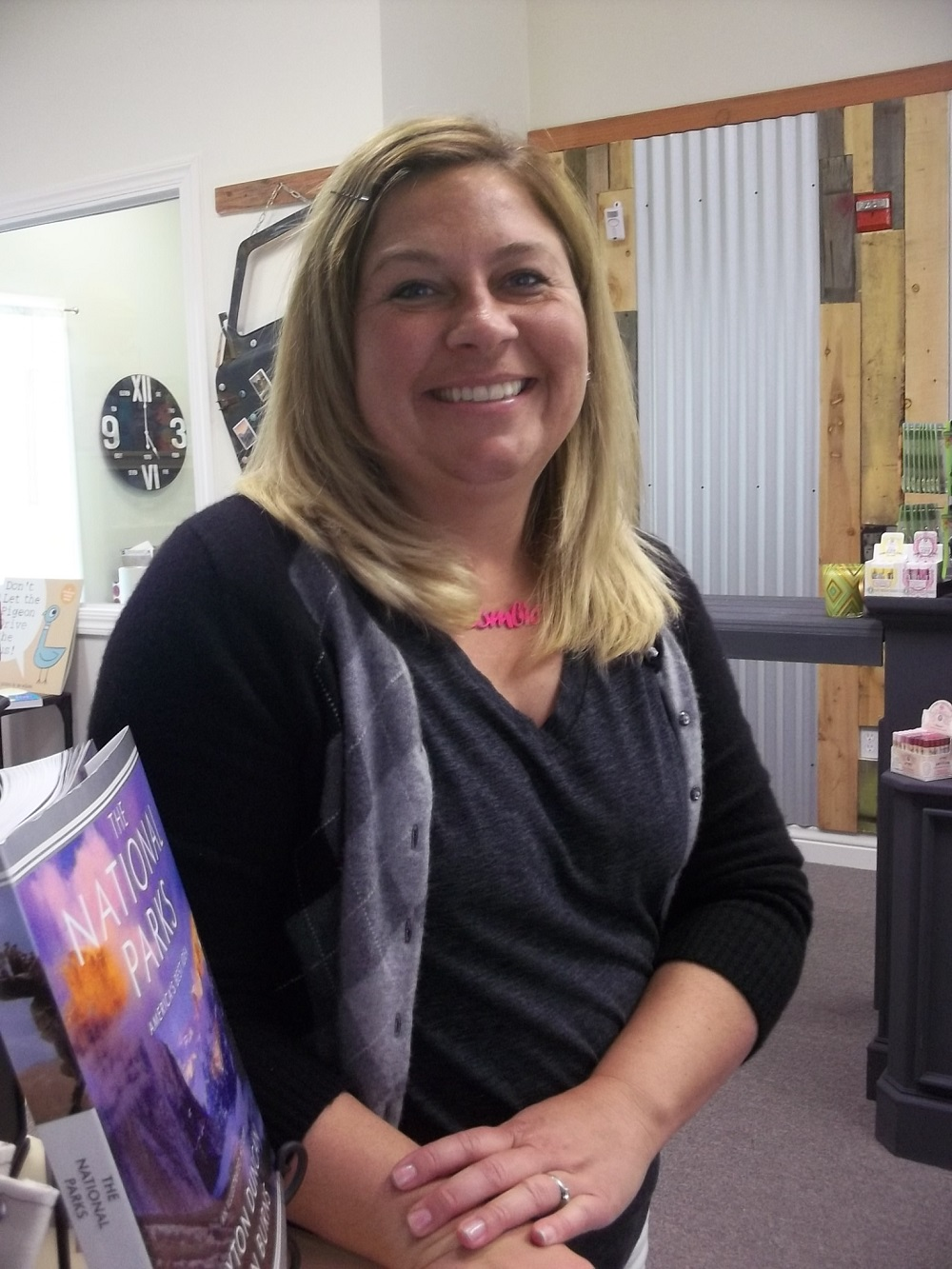 Branches Books and Gifts - Owner Anne Driscoll - Photo by Kellie Flanagan