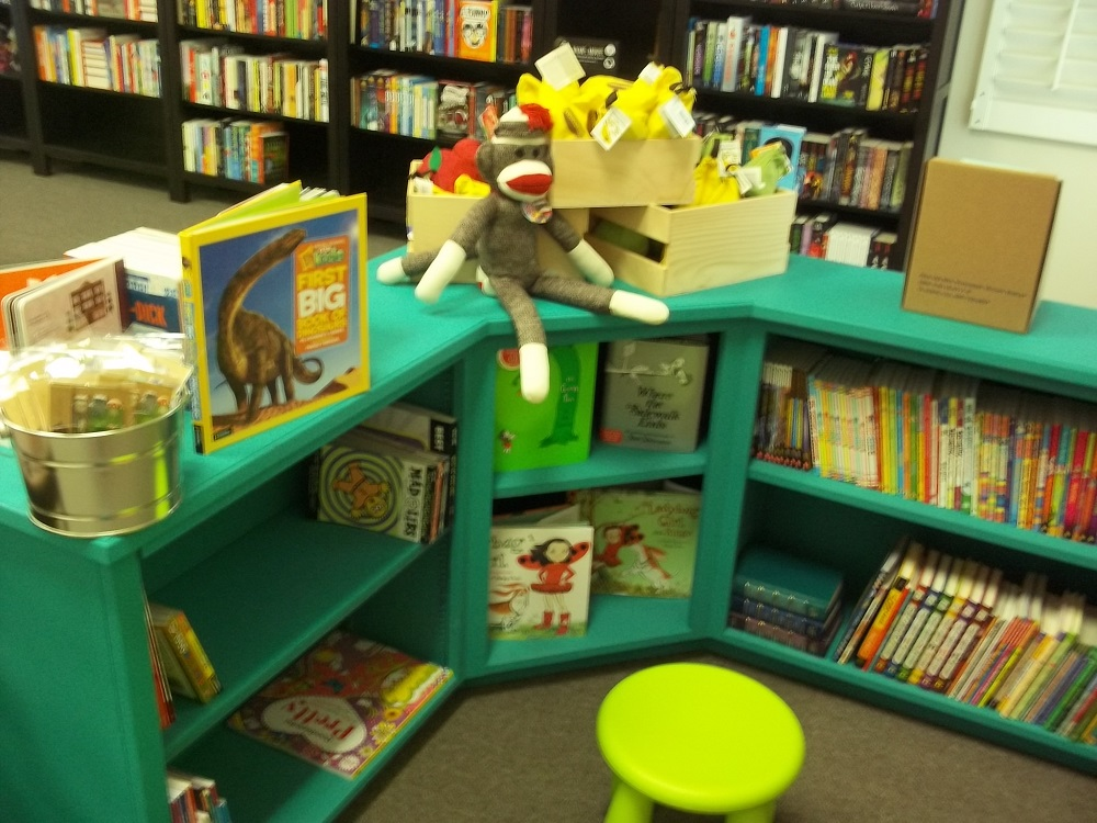 Branches Books and Gifts - kids area - Photo by Kellie Flanagan