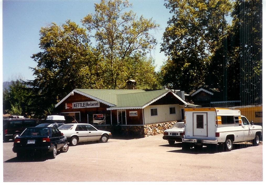 Kettle Restaurant at Hwy 41 and Road 426 in 1989