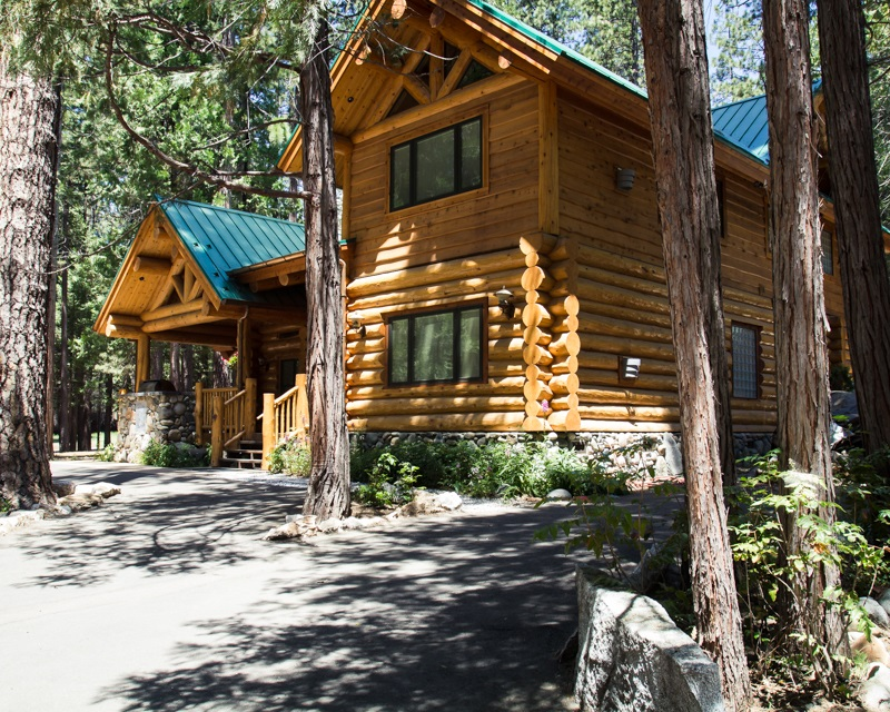 Redwoods 14 - Exterior of a platinum level rental property at the Redwoods  2014 - photo by Virginia Lazar