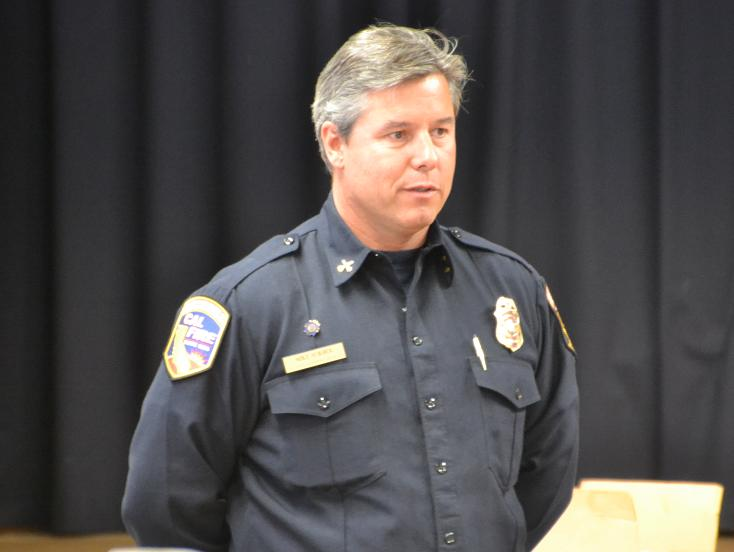 Cal Fire Battalion Chief Mike Surber