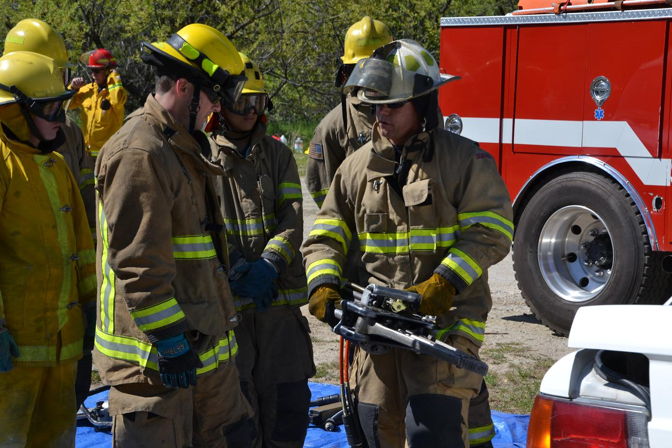 Jaws of Life Training - photo by Gina Clugston