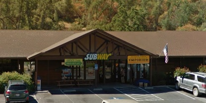 Subway in Coarsegold currently has an A grade from Madera County Environmental Health Department Feb 2015
