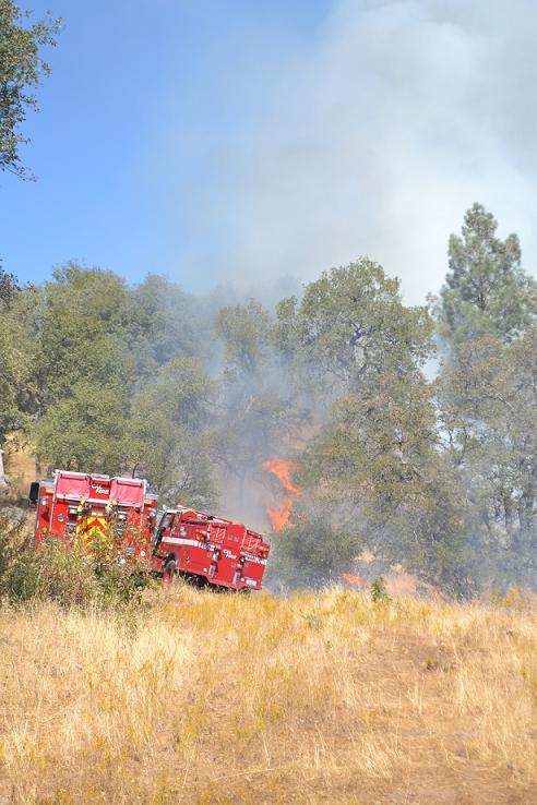Acorn Fire Engines and Fire 9-28-12