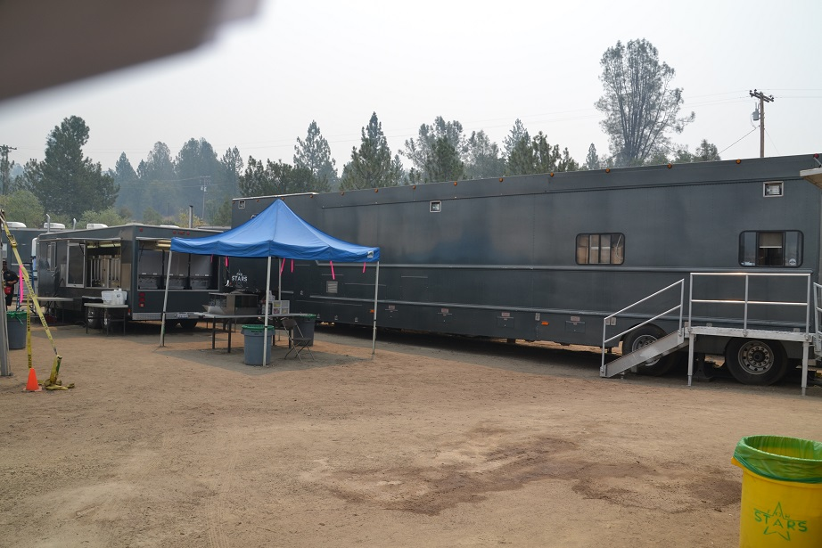Catering unit and BBQ at French Fire
