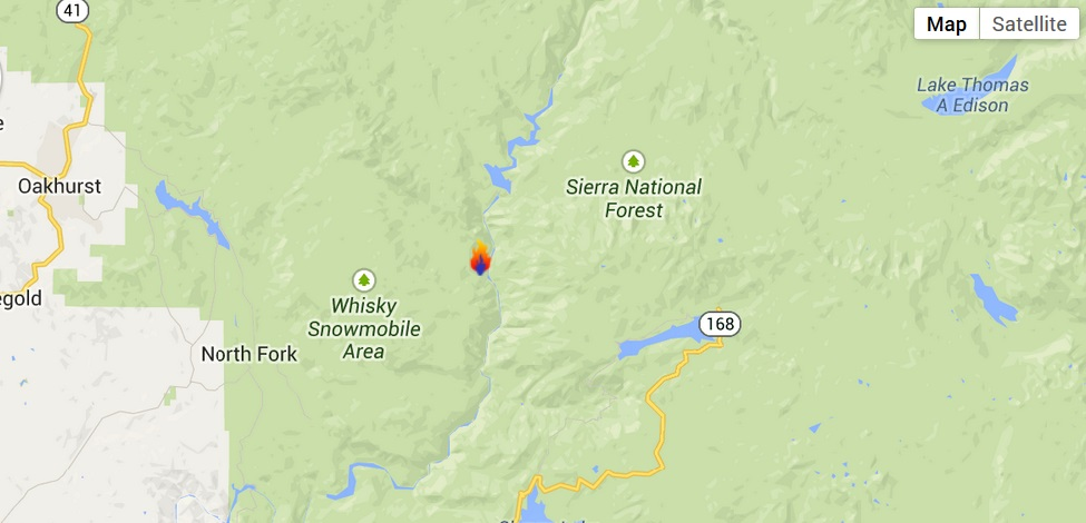 French Fire Google map 7-28-14