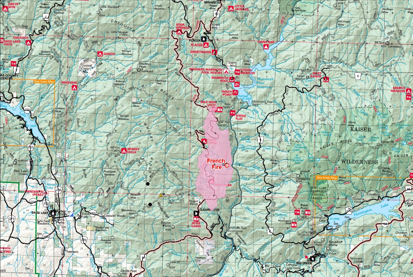 French Fire map 7-31-14