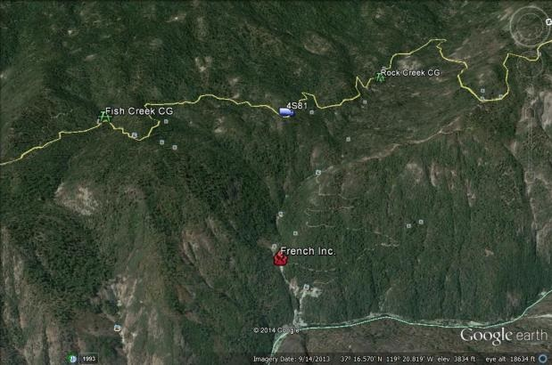 Google earth French Fire 7-28-14