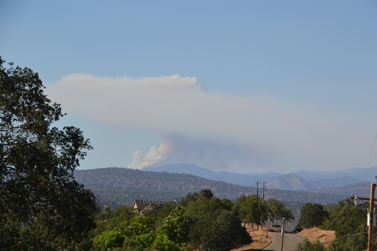 Carson fire from Lilley Moutain Drive 6-16-13