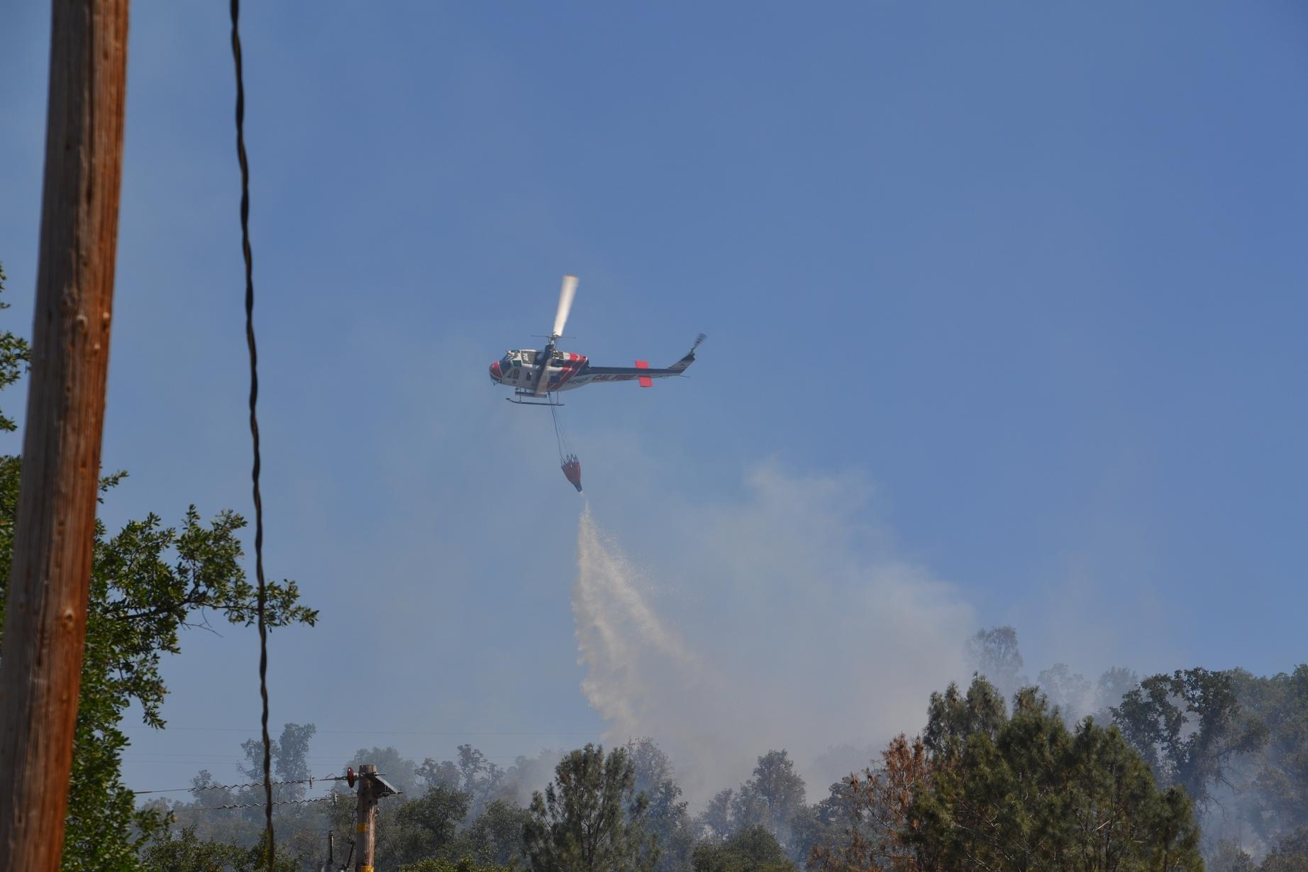 Cal Fire helicopter 404