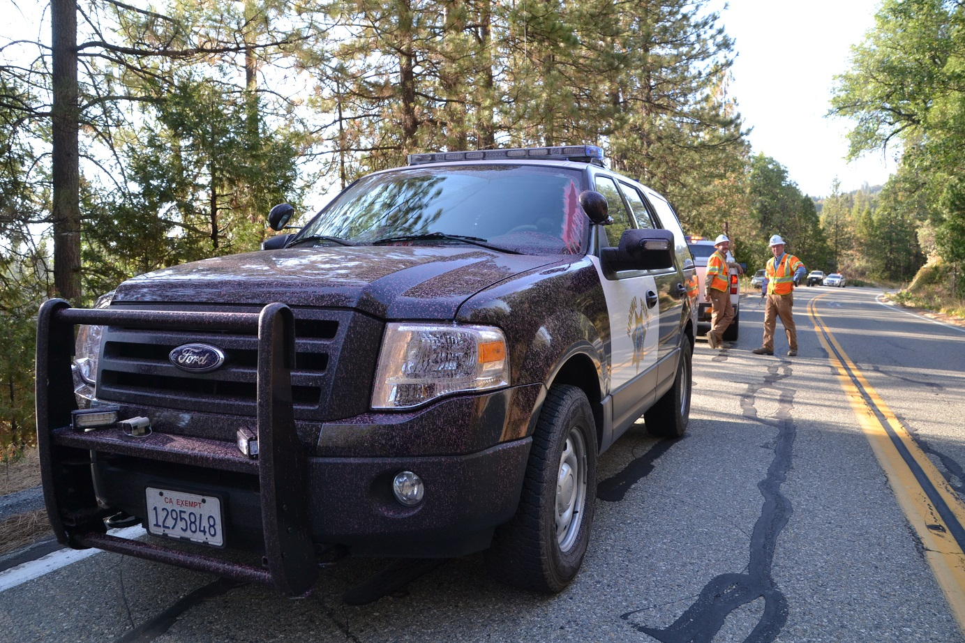 CHP covered with retardant